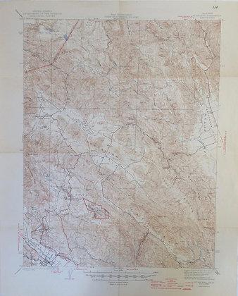 1942 St Helena, CA 15 minute USGS Sheet