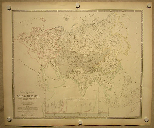 Asia & Europe River Systems, 1848