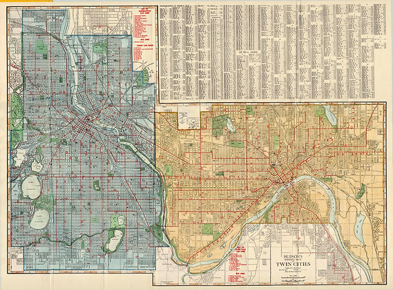 Minneapolis and St Paul, 1935