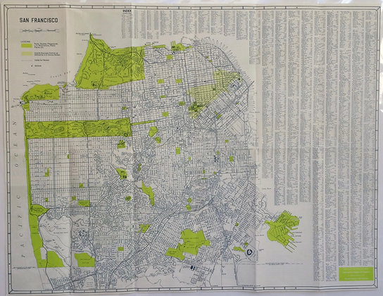 1970 Chamber of Commerce map in Chartrues9