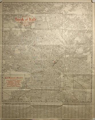 Los Angeles & Vicinity, 1929