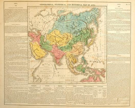 Asia, 1821