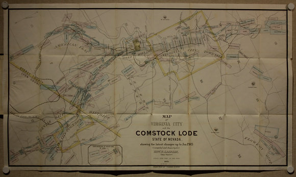 Virginia City and the Comstock Lode, 1875