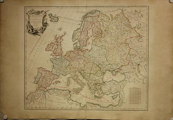 Europe, 1751