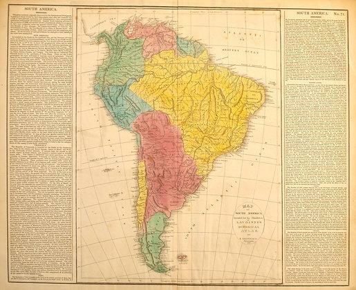 South America, 1821