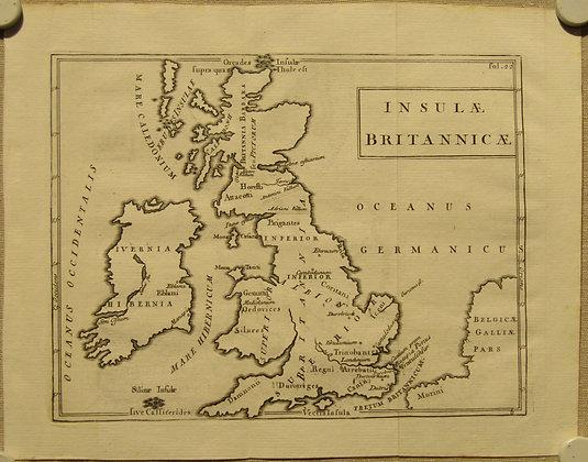 Insulae Britannicae (British Isles), 1731