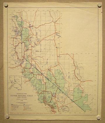 Toiyabe Nat'l Forest (Lake Tahoe), 1958