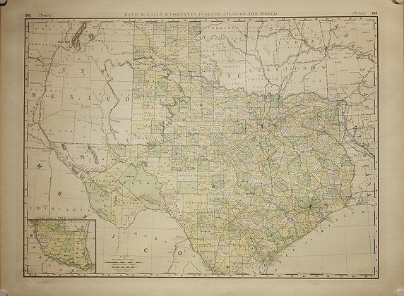 Texas, 1892