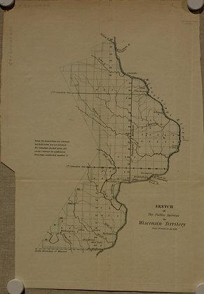 Wisconsin Territory, 1838