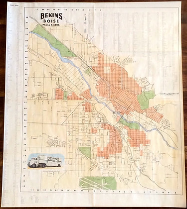 Boise ID, 1953