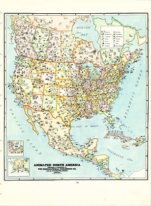 North America, 1948