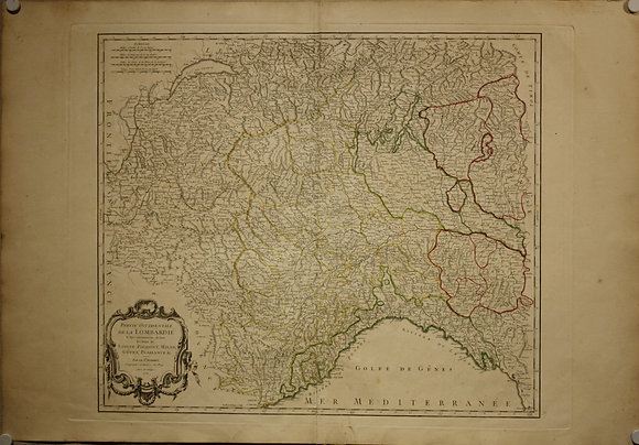 Lombardy, 1750