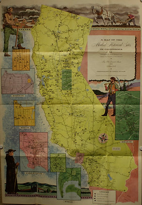 Historical Sites of California, 1952