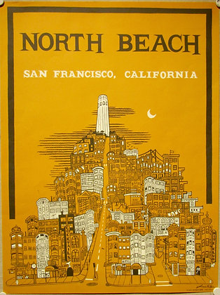North Beach, San Francisco Poster