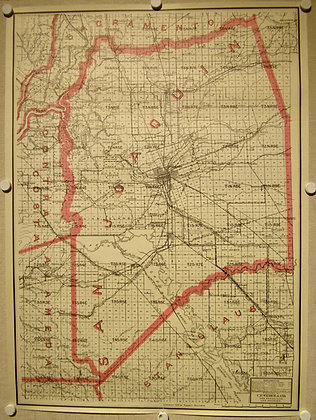 San Joaquin County (CA), 1914
