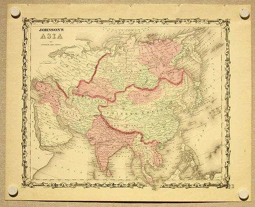 Asia, 1862