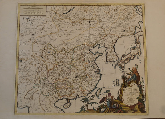 Chinese Empire & Tartary (Eastern Asia), 1779