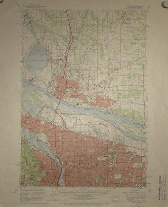 Portland/Oregon City, 1961
