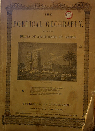 Poetical Geography with the Rules of Arithmetic in Verse, 1849