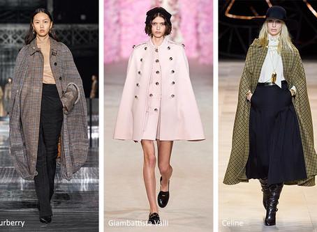 Fall/Winter 2020 Coats Fashion Trends