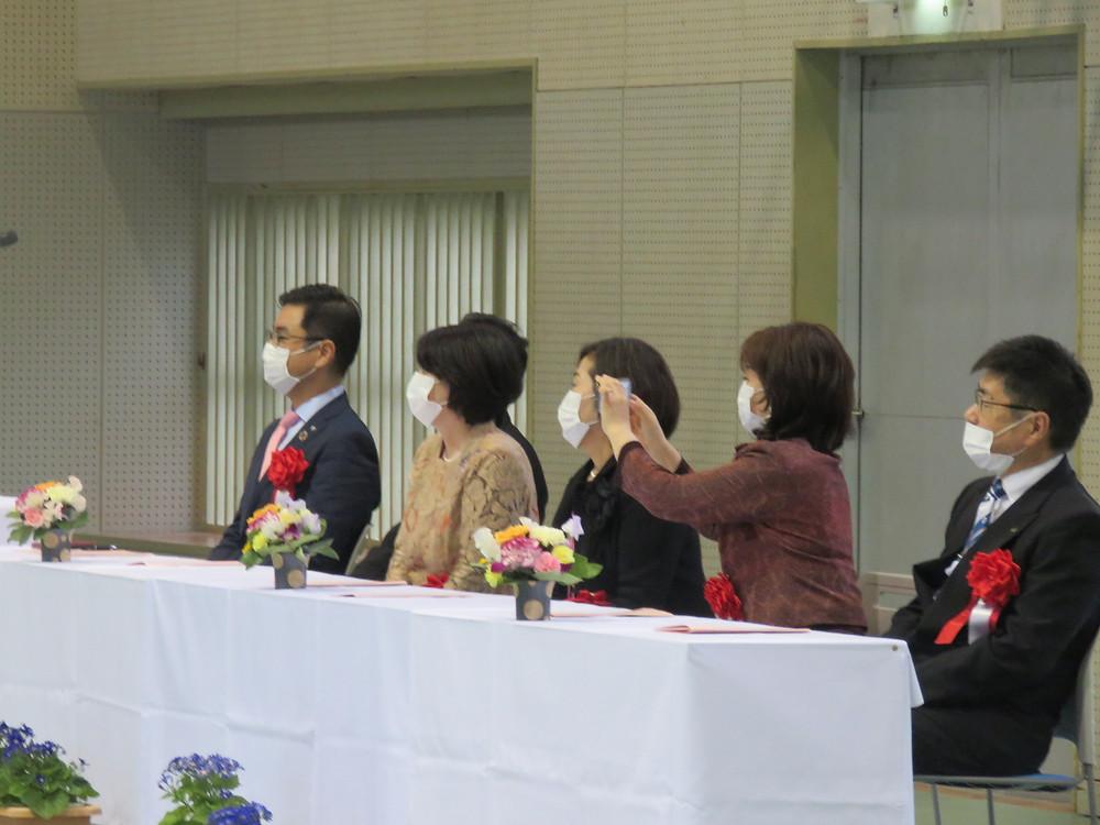 池田中学校 卒業式