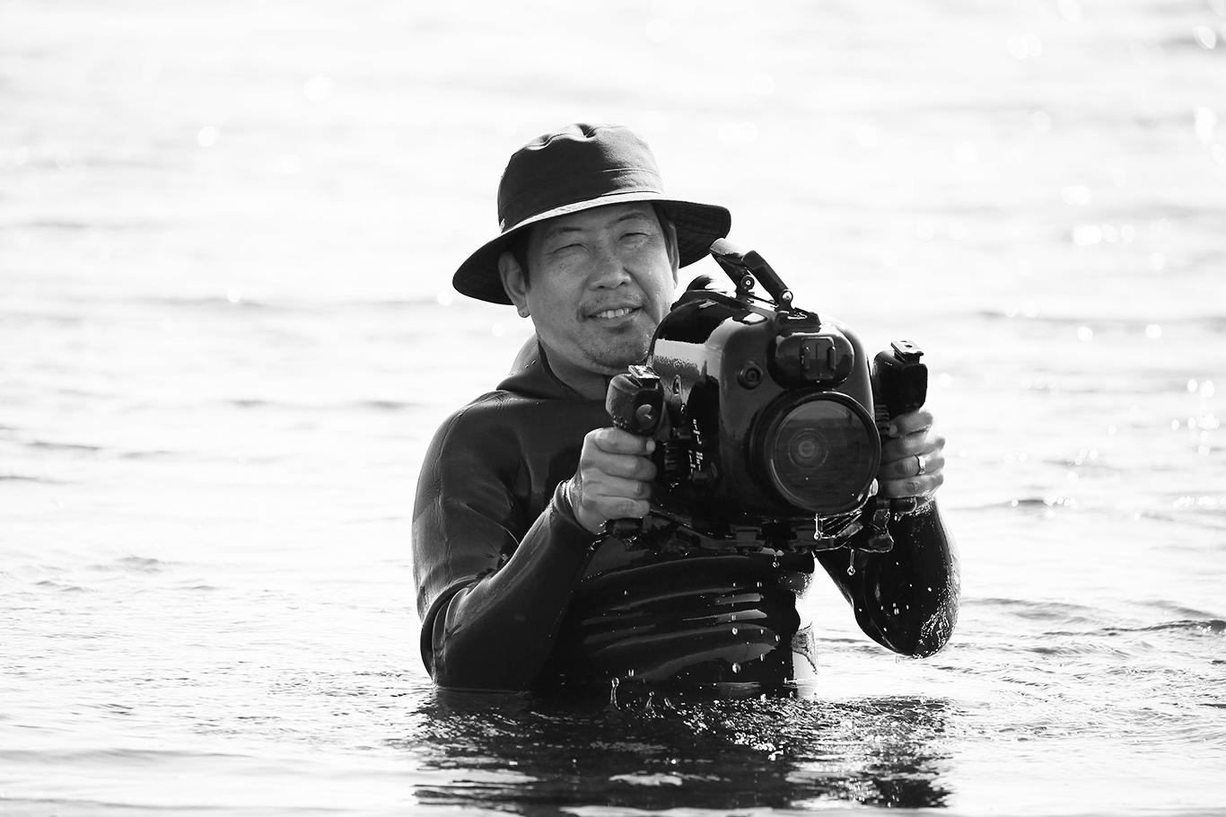 水中撮影カメラ