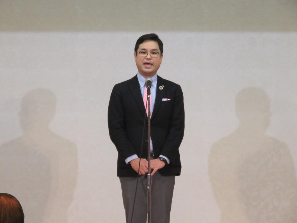 藤﨑剛 県議 企業団体後援会新年交歓会