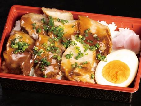 ご自宅で、会社で、お持ち帰りで!寿しのはしぐち自慢の本格「とろっとろ角煮丼」をどうぞ!