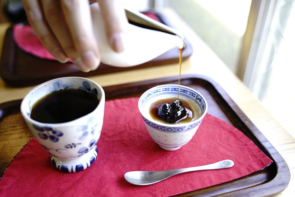 コーヒーとデザートもこだわりの味