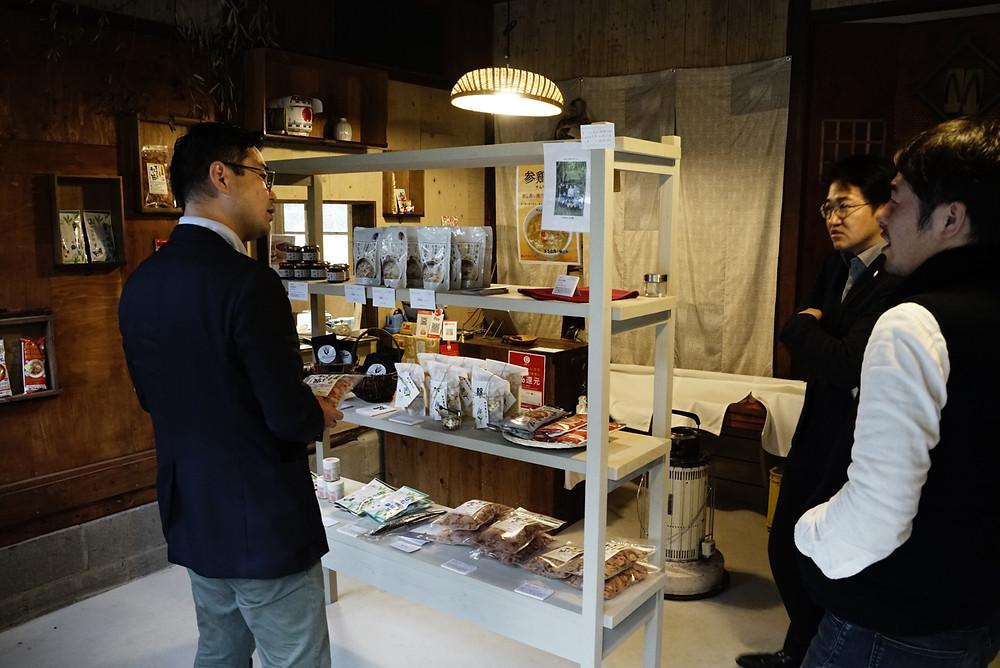 こだわりの地元食材の商品を販売するmoë store(モエストア)