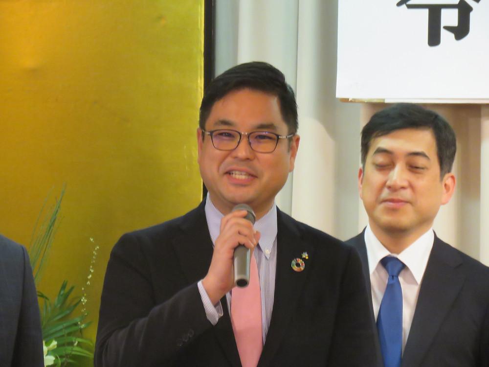 伊仙中校区新年祝賀会