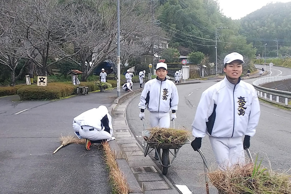 久木田・下門町内会 年末の清掃活動