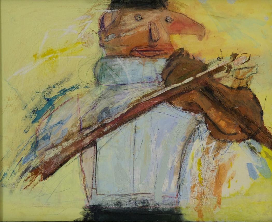 バイオリンをひくともだち