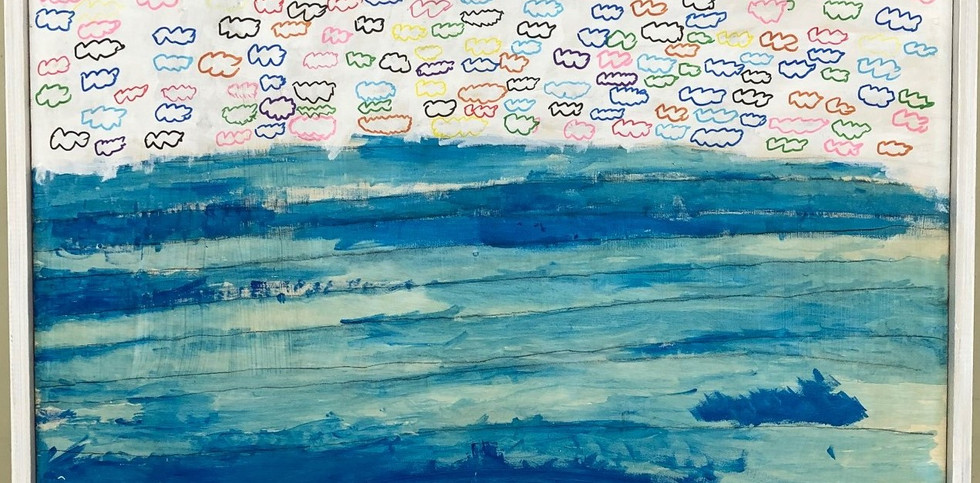 青いサンゴ礁