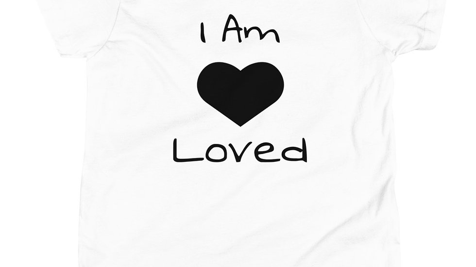 """Loved"" Youth Short Sleeve T-Shirt"