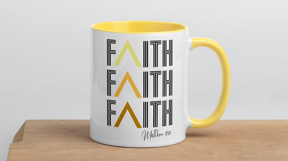 Faith Mug with Color Inside