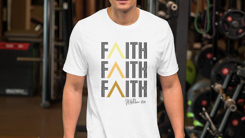 """""""FAITH"""" Short-Sleeve Unisex T-Shirt"""