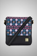 LEATHER CROSSBODY BAG - OF SPATIAL GODS