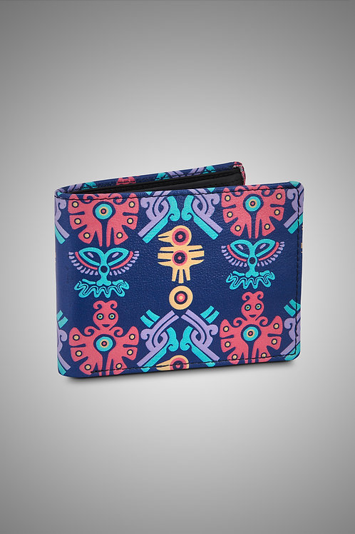 LEATHER MEN'S WALLET - THE MOHICAN TRINITY