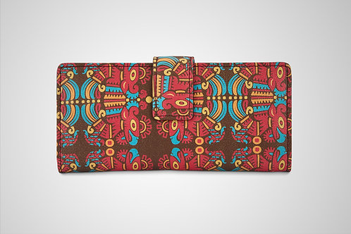 PREMIUM AGED LEATHER WOMEN'S WALLETS - THE IMMORTAL GLYPH