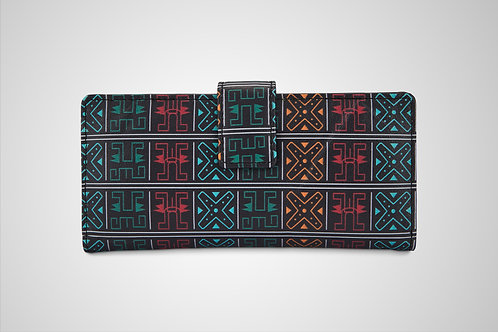 PREMIUM AGED LEATHER WOMEN'S WALLETS - AN ANCIENT GAME