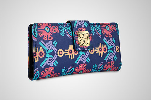 LEATHER WOMEN'S WALLETS - THE MOHICAN TRINITY
