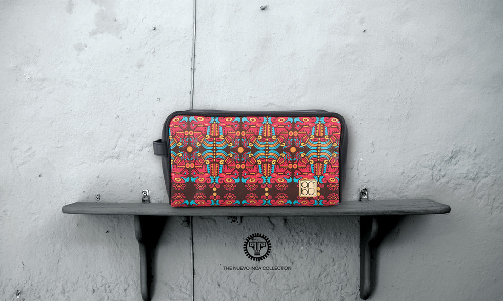 TRAVEL POUCH - THE IMMORTAL GLYPH