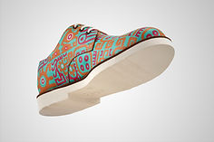 GENDER NEUTRAL LEATHER SHOE - THE DIVINE GEOMETRY