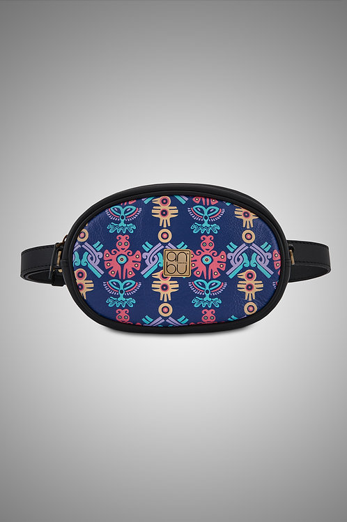 LEATHER WAIST POUCH - THE MOHICAN TRINITY
