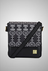 LEATHER CROSSBODY BAG - THE GREAT UNMASKING