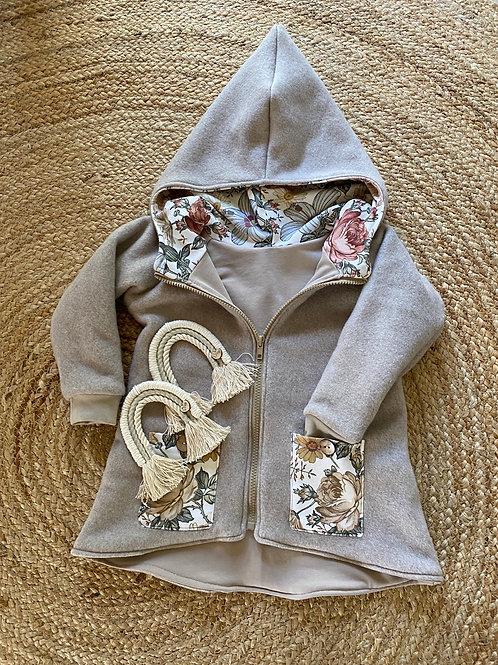 Fleece Jacke mit Taschen