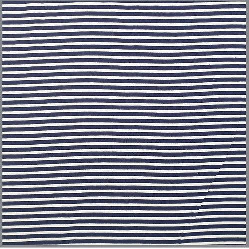 Jersey Blau-Weiß gestreift