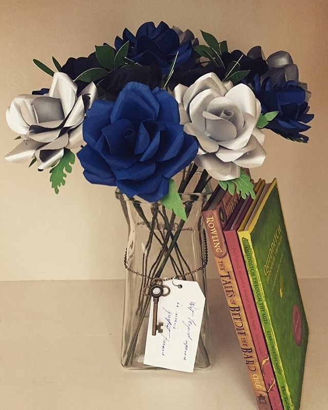 Wit beyond measure is man's greatest treasure. Ravenclaw Bouquet