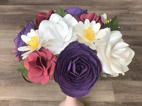 Pink, Purple, and White Mix